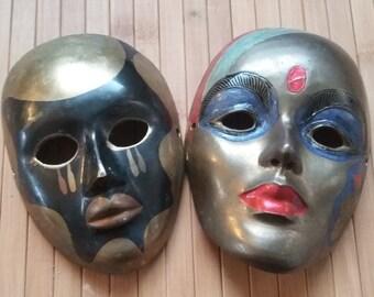 Brass mask set