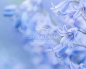 Nature 2017 Wall Calendar - flower photography, trees, leaves, botanical, macro, seasons, flora, 8.5x11 calendar, 11x17 calendar