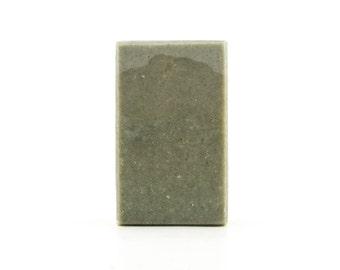 Rosemary, Lime, & Cypress All Natural Handmade Soap Bar with Indigo