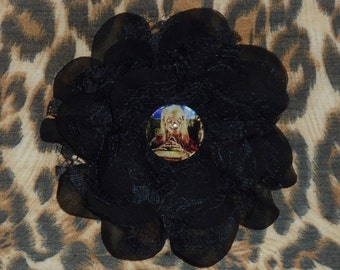 ON SALE! The Crypt Keeper / Tales From the Crypt Inspired Hair Flower