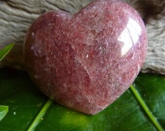 Nature's Magick Red Aventurine Crystal Heart