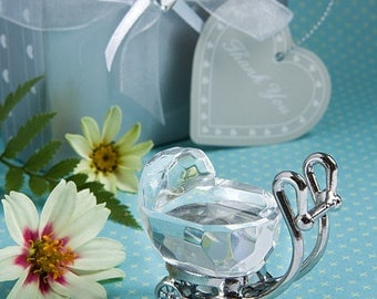 Choice Crystal Collection Baby Carriage - Baby Shower Party Favors 12-72 Qty  2208