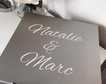 Personalised Engagement Gift Set Box Combo