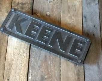 Special order for Shellysorenson Custom steel name or address plaque numbers or letters