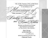 Wedding Invitation Suite ...