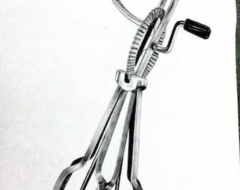Kitchen utensil drawing
