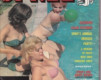 Spree Magazine #25 - July 1961 Issue - Adult Pin-Up Magazine