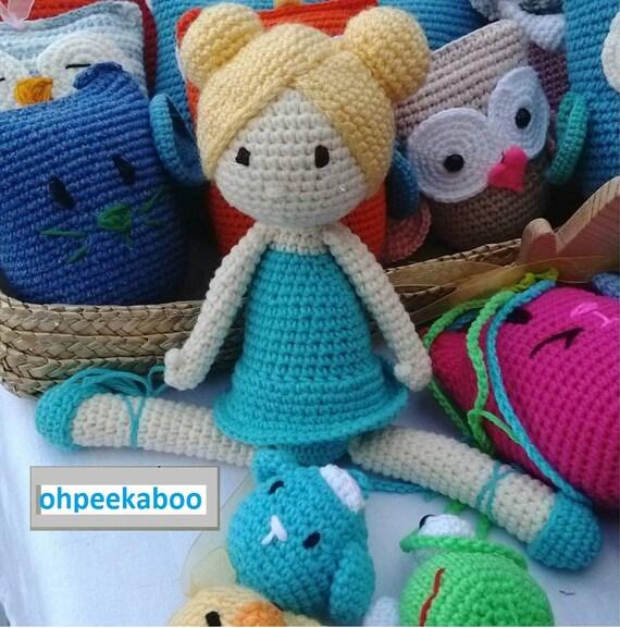 crochet dolls ballerina made in Turkey