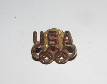 Vintage Olympic Lapel Pin