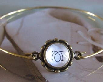Initial Bracelet, baby loss gift, baby loss, miscarriage gift, child loss, memorial jewelry, miscarriage, stillbirth, gift for her, handmade
