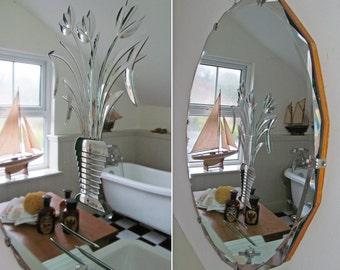 Frameless mirror | Etsy