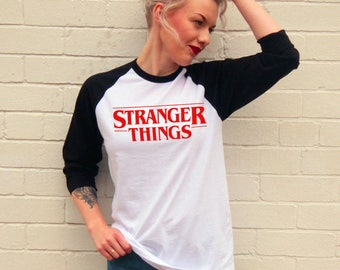 Vintage Style Stranger Things Jersey/T-Shirt