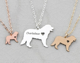FREE SHIP • Bernese Mountain Dog Necklace • Bernese Dog Jewelry • Custom Dog Breed • Pet Lover Gift Birthday Gift Personalized Pets Dog Loss