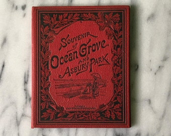 Souvenir of Ocean Grove and Asbury Park. Published by Adolph Wittemann: NY, 1885