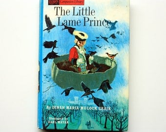Vintage The Little Lame Prince  by Dinah Maria Mulock Craik - Companion Library Books - -