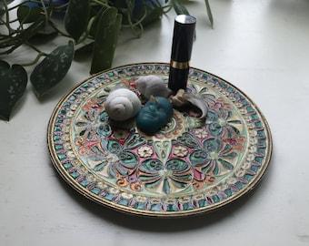 Unique Decorative Plate/Trinket Dish