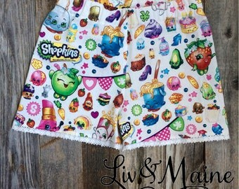 Shopkins Shorties - Size 2/3 - Ready to Ship