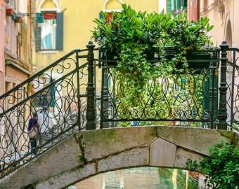 italian photography, italy photography - wall art bedroom - romantic venice italy fine art photography travel - colorful art, peaceful print