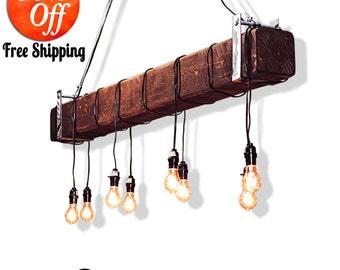Rustic lighting.farmhouse lighting.industrial lighting.farmhouse chandelier.rustic chandelier lighting.rustic chandelier (Rustic Chandelier)
