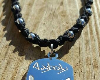 Handmade Chromed Out ABK Hemp Necklace