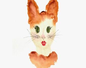 Hybrid Kitty Girl