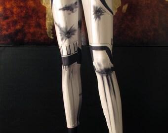 NEW! TAFI Stormtrooper Leggings - 2017 Custom Star Wars Body Armor Design Affordable Movie Costume CosPlay Yoga Print