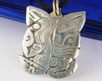 Native American Tortuga Fine Silver Pendant - Southwest Turtle 99.9% Pure Silver Pendant - Silver Turtle Keyring - Unique SW Turtle Gift