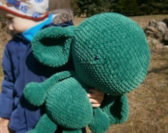 Big Crochet monster, crochet big toys, big stummelchen, for order, eco toys, Choose color - free shipping.