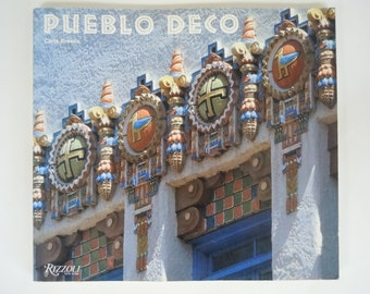 Pueblo Deco Southwest Art Deco Architecture by Carla Breeze