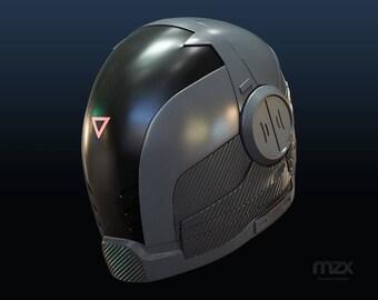 Last Man Standing: Gabriel helmet DIY model for 3D-printing