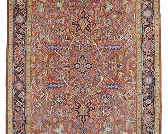 Antique Persian Heriz Rug Design# 2168, Size- 8 x 10