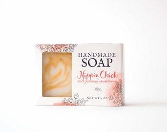 Patchouli Soap - hippy soap - natural hippie soap - aromatherapy soap - crunchy mama soap - earthy soap - natural soap - goat mik - boho