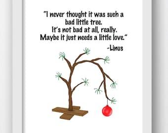 Charlie Brown Christmas Tree Charlie Brown Christmas Linus