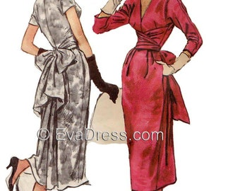 1957 Claire McCardell Dress EvaDress Pattern