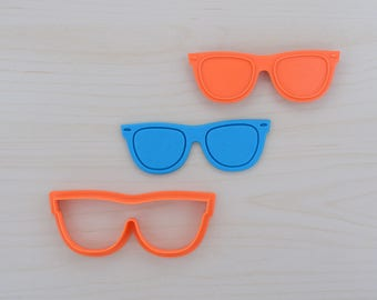 Sunglasses Cookie Cutter and Stamp Set