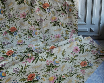 1940s curtains etsy for 1940s window treatments