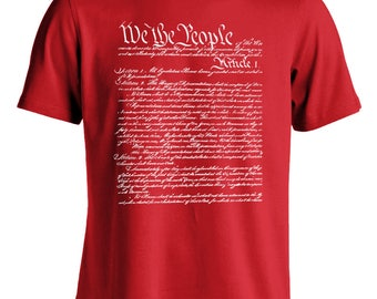 We The People Constitution Men's T-Shirt