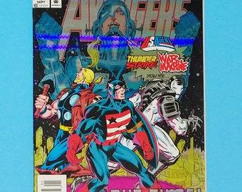 Avengers Comic #1, The Terminatrix Objective, (Grade VF/NM) 1993, Marvel Comics Avengers, Avengers COMIC, (B1)