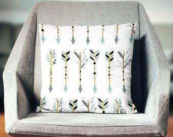 Neutral Pillow | Neutral Throw Pillow | Accent Pillow | Accent Throw Pillow | Neutral Pillow Cover | Tribal Decor | Tribal Pillow