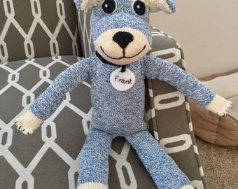 Custom friend for your dog or child - sock monkey dog cat horse - sock friend - Examples here