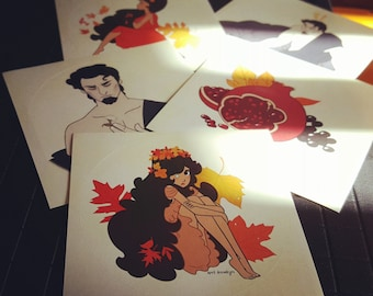 Hades & Persephone : Falling in and Out of Love - Sticker Pack