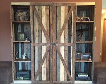 Rustic Gun Cabinet