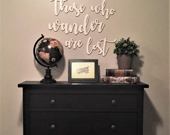 Not All Those Who Wander Are Lost, Wall Set