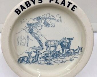 Carlton Ware Babys Plate