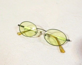 90s yellow lens sunglasses : NOS