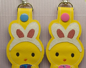 Bunny Chick Keychain