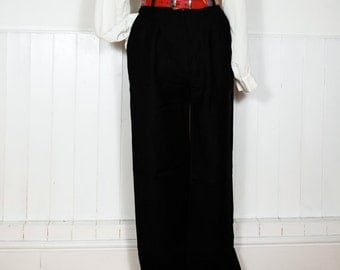 Vintage High Waist Trousers