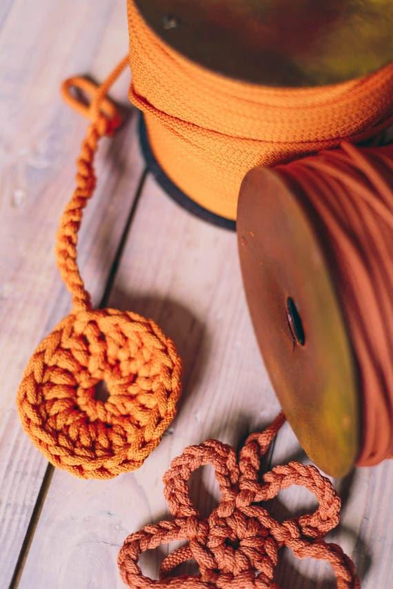 Chunky yarn/ bulky yarn/ craft supplies/ diy crafts/ craft projects/ crochet rope/ crochet supplies/ macrame cord/ rope cord #47 #55
