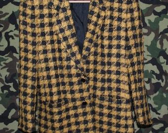 PORTS International CLUELESS Plaid Blazer