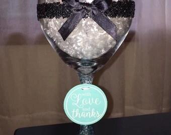 Bridal Shower Wine Glasses